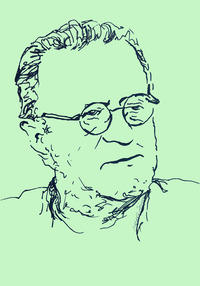 Christos Joachimides (1932-2017) — Illustration: Eleana Stoikou